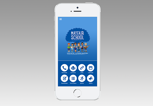 Mayfair School App