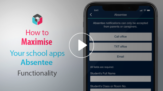 SchoolAppsNZ tips & tricks. Maximising the Absentee function