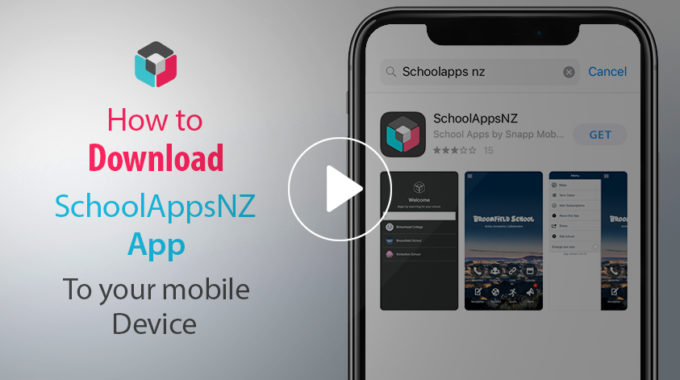How to download the SchoolAppsNZ App to your mobile device.