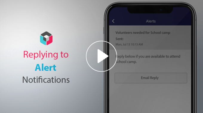 Adding a 'Reply to' button so users can reply to your alert via email