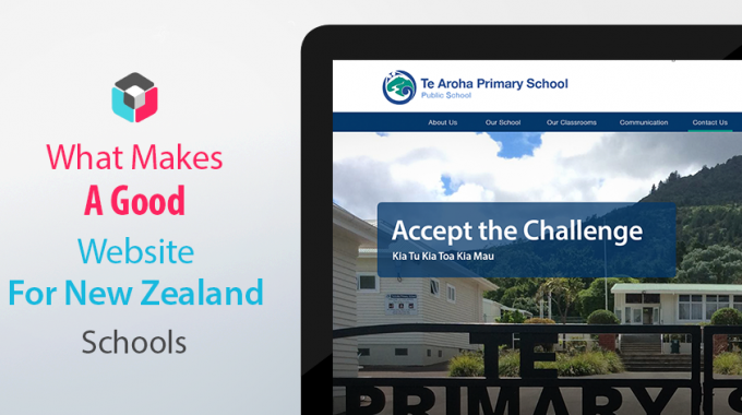 What makes a good New Zealand School Website?