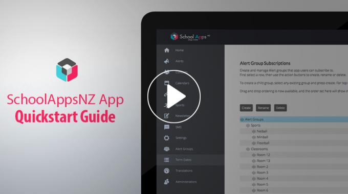 SchoolAppsNZ Quick-Start Guide